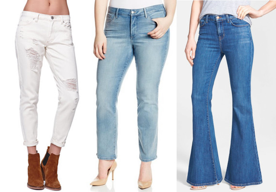The No Bullsh T Denim Guide For Every Body Type Huffpost Life