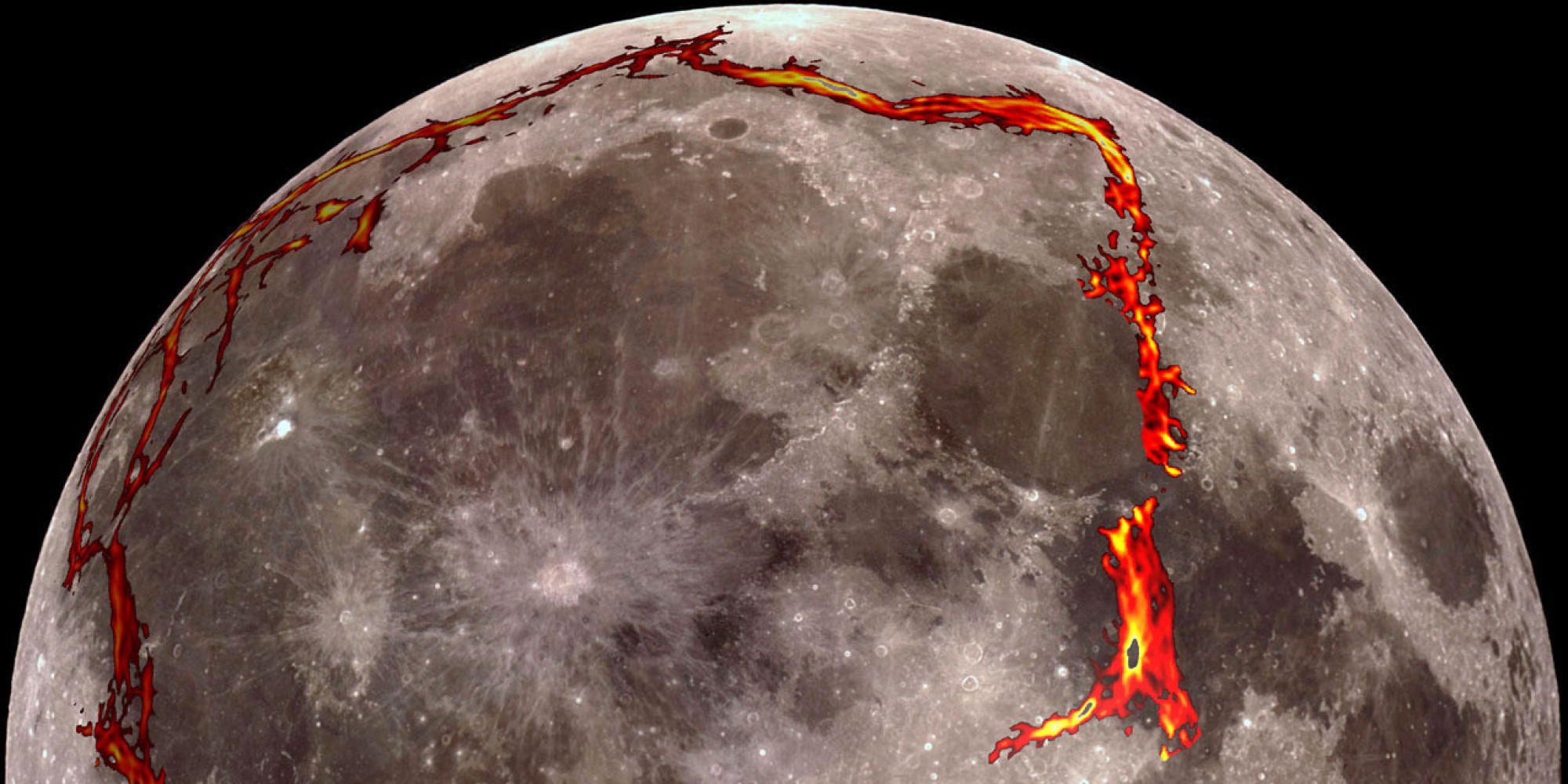 NASA Says There Is A Giant Square 'Structure' Under The Moon