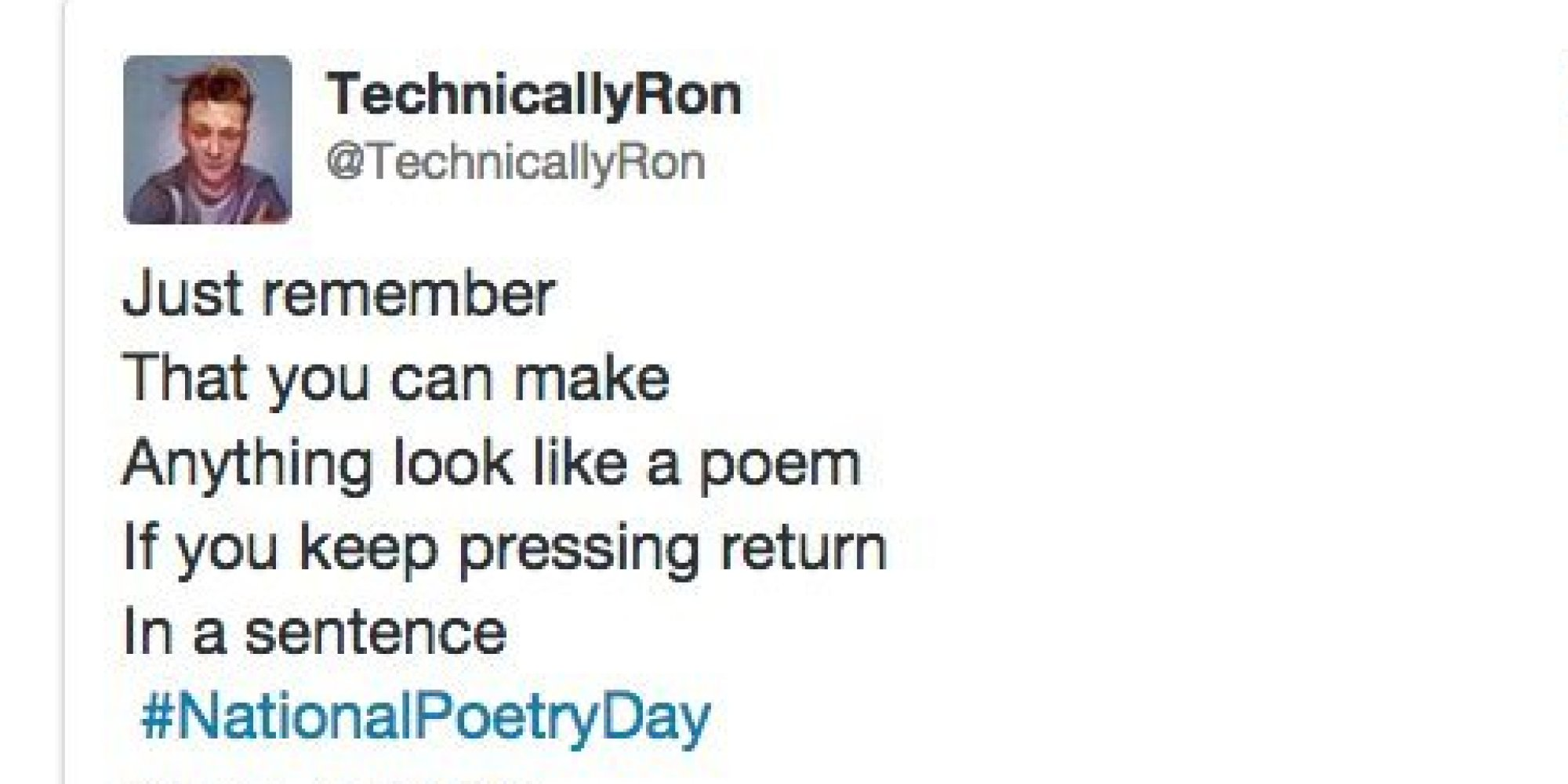 National Poetry Day Twitter_n_5919270 on Poems For Christmas From Secret Santa