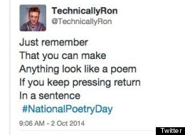 #NationalPoetryDay: Twitter's Funniest Reactions And Rhymes