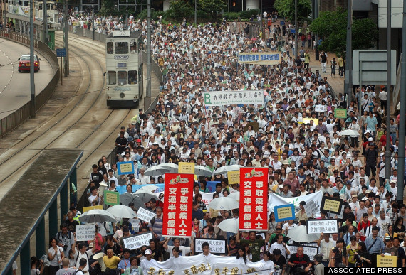 hong kong 2003 july 1