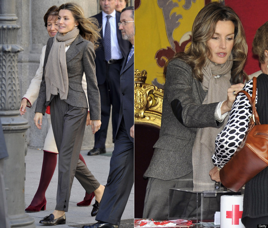 princess letizia of spain bio. Princess Letizia#39;s look: