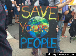 I Went To The People's Climate March And Here's What I Saw