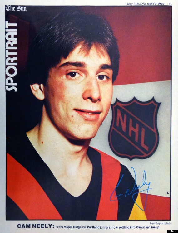 cam neely vancouver canucks