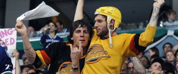 from Shaun gay canuck fans
