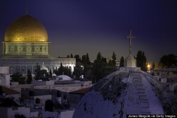 jerusalem muslim christian
