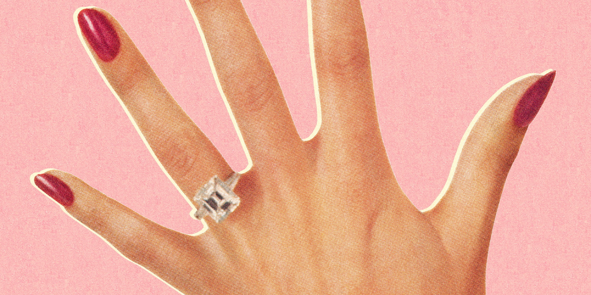 what the cost of your engagement ring may say about your marriage huffpost - Average Price Of Wedding Ring