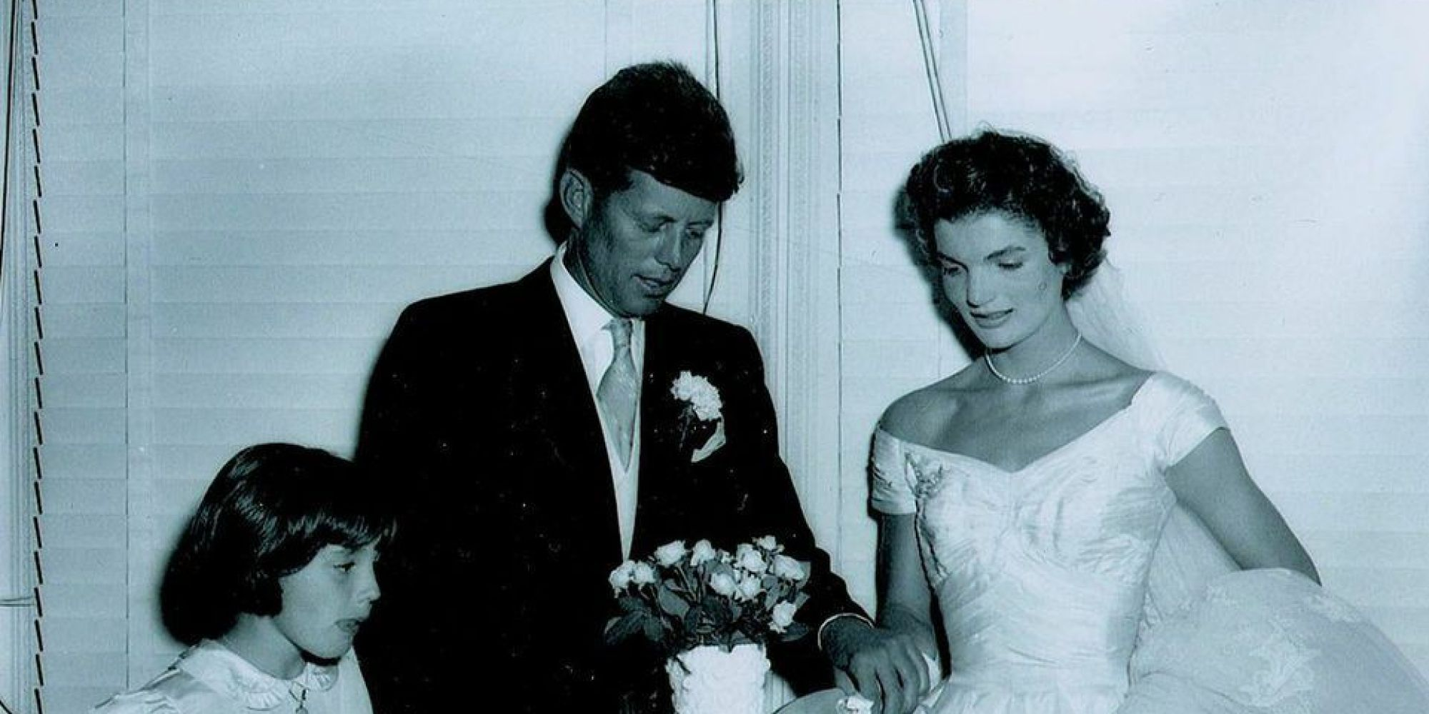 These Rare Photos From Jfk And Jackie's Wedding Were Found In A Darkroom   Huffpost