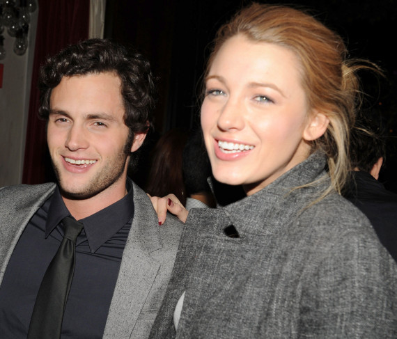 Blake Lively Penn Badgley Split Breakup