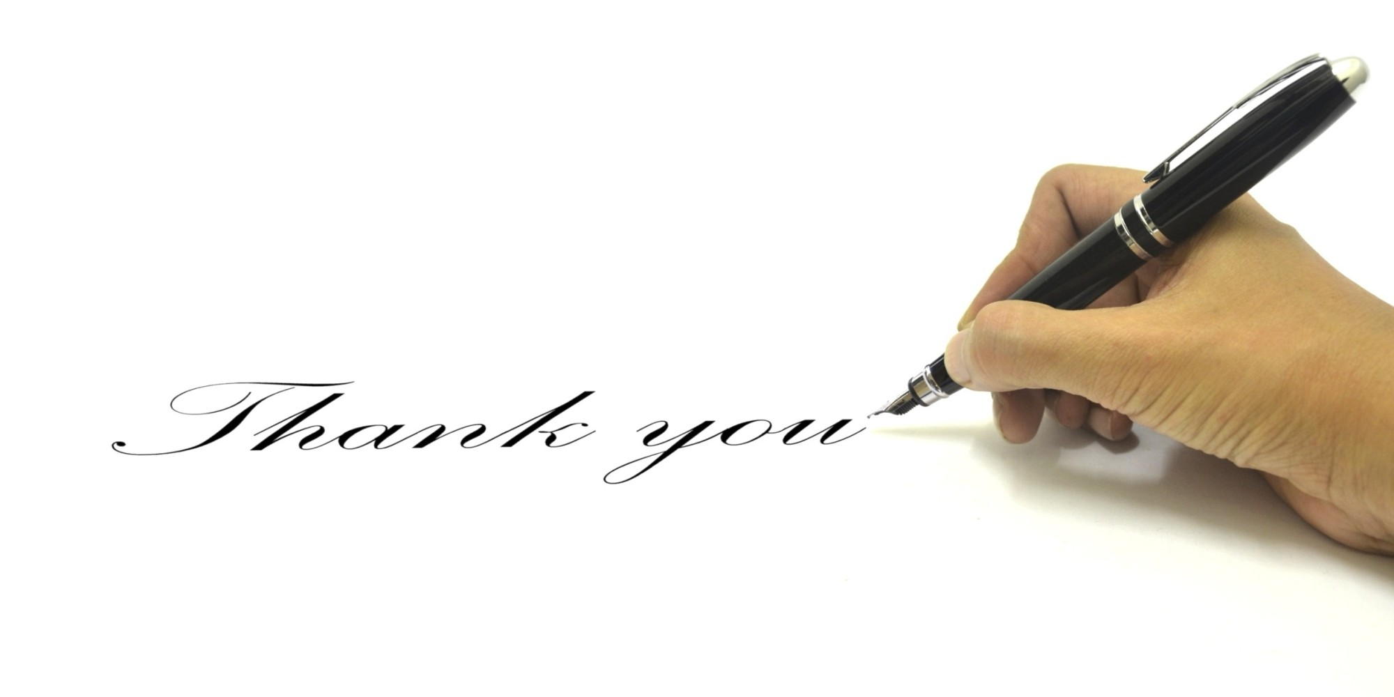 how to write a thank you note that shines the huffington post