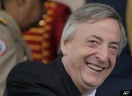 Nestor Kirchner Dead