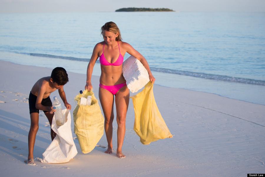 Melissa debling sheer lingerie