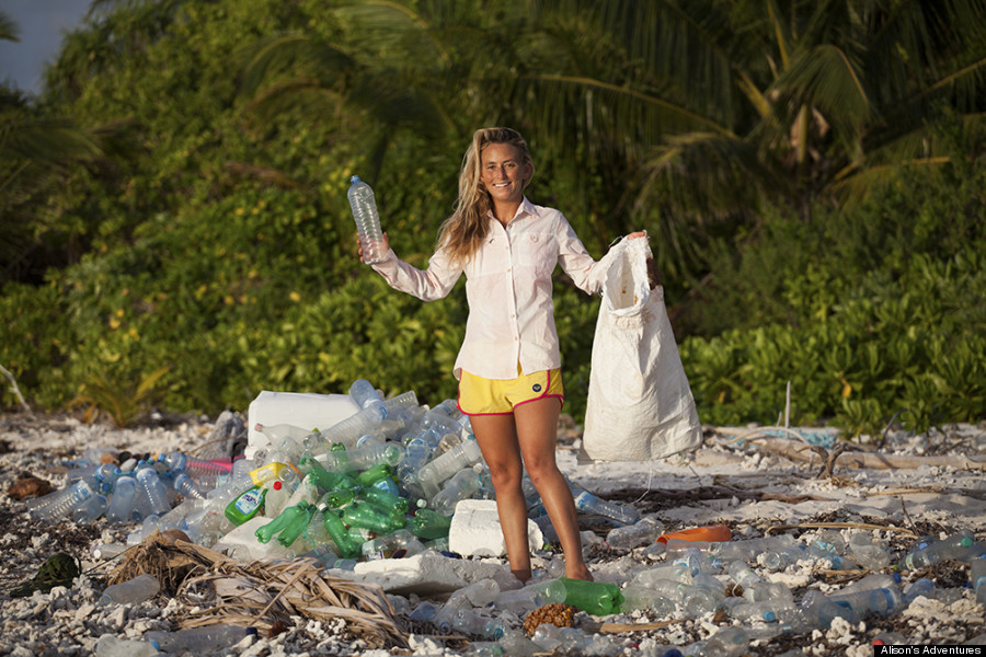 Alison Teal Visits The Maldives Trash Island And Reveals The Plastic Problem That Isn T Shown