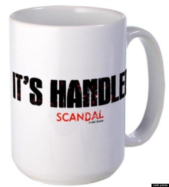 its handled