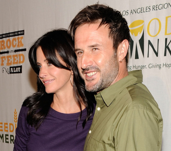 David Arquette Jasmine Waltz Courteney Cox
