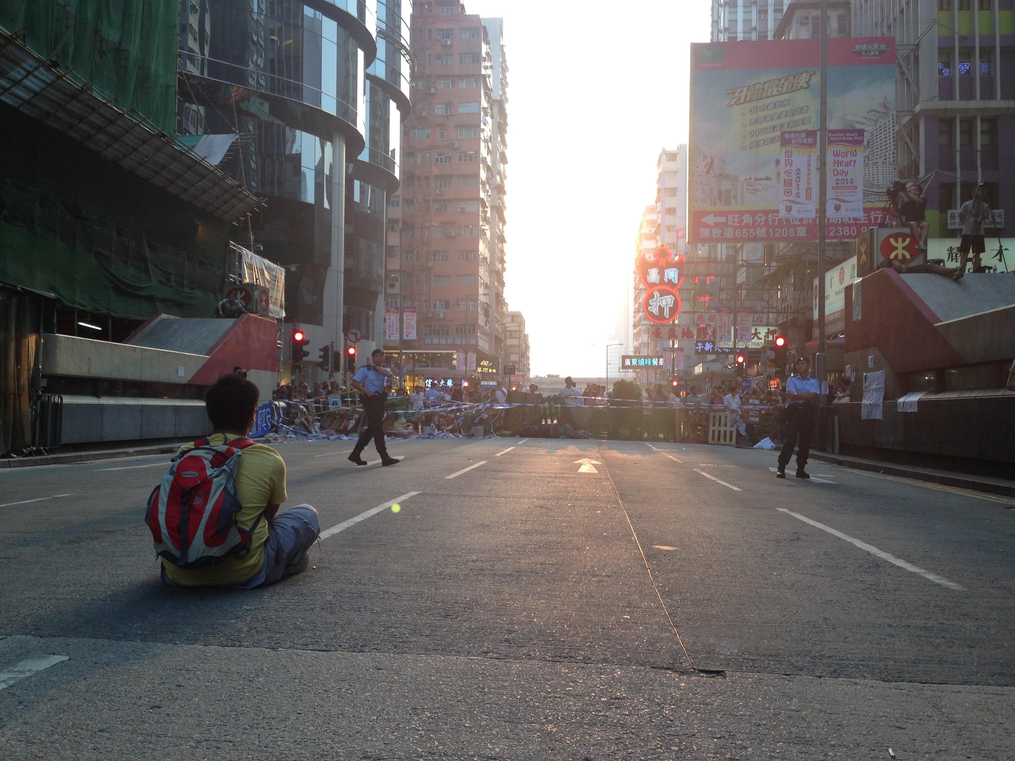 hong kong occupy