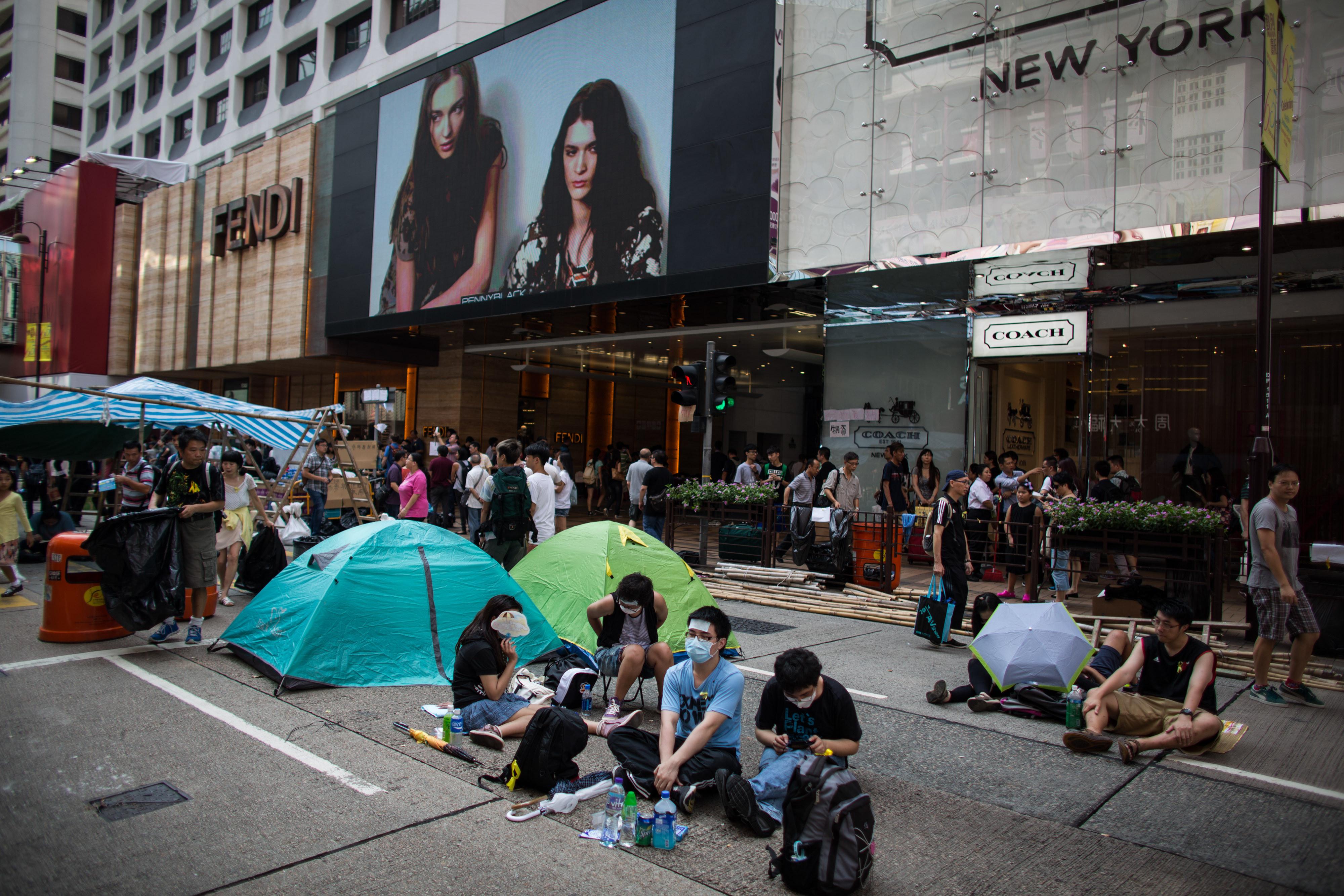 hong kong occupy luxury