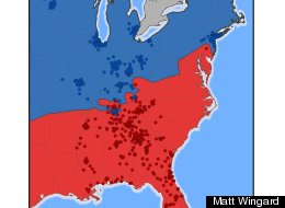 The North And South Are Seriously Divided When It Comes To Fast Food