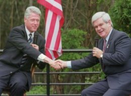 newt gingrich and bill clinton relationship