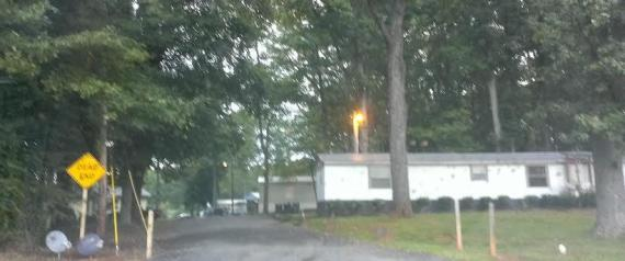 The Entrance To Trailer Park At 11826 Ramah Church Road