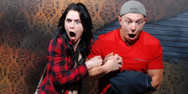 32 Hilarious Haunted House Reactions Caught On Camera   HuffPost