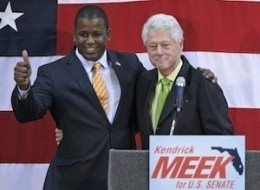 Bill Clinton Kendrick Meek Drop Out