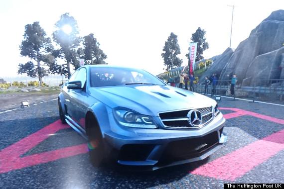 driveclub c63 amg black