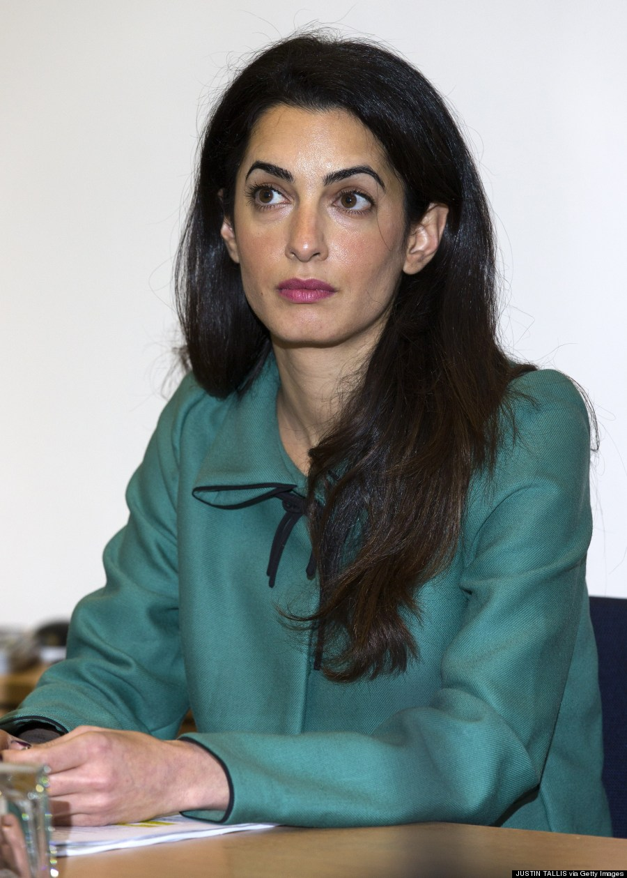 All The Times Amal Alamuddin Had Perfect Hair (PHOTOS)