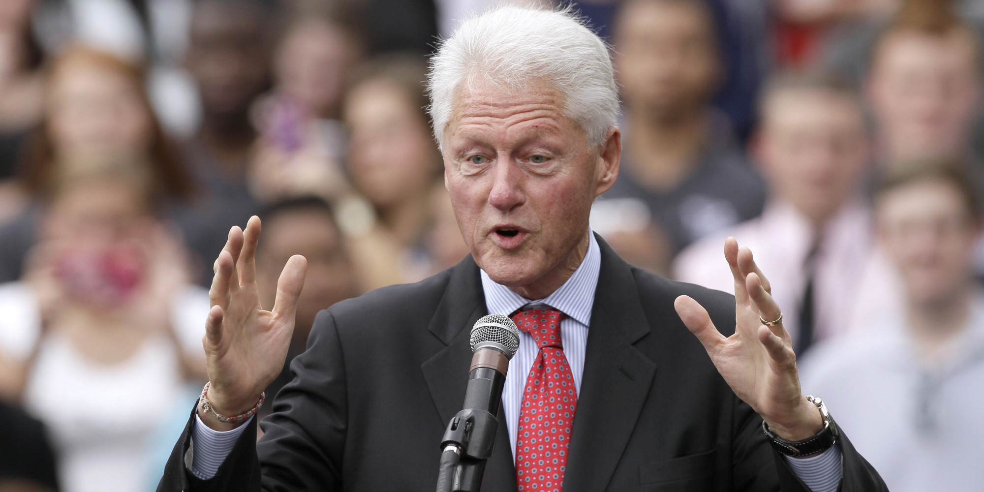Bill Clinton Returns To Arkansas To Energize Voters | HuffPost