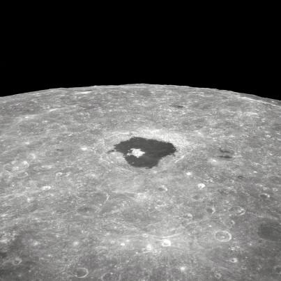 tsiovolsky crater