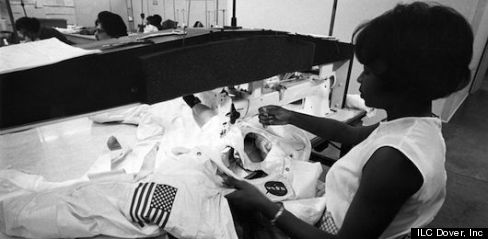 the seamstresses at work