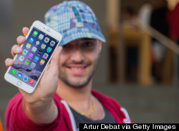 That Spiffy New iPhone May Mean He's Looking For A Fling