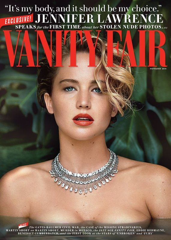 jennifer lawrence photos nues vanity fair