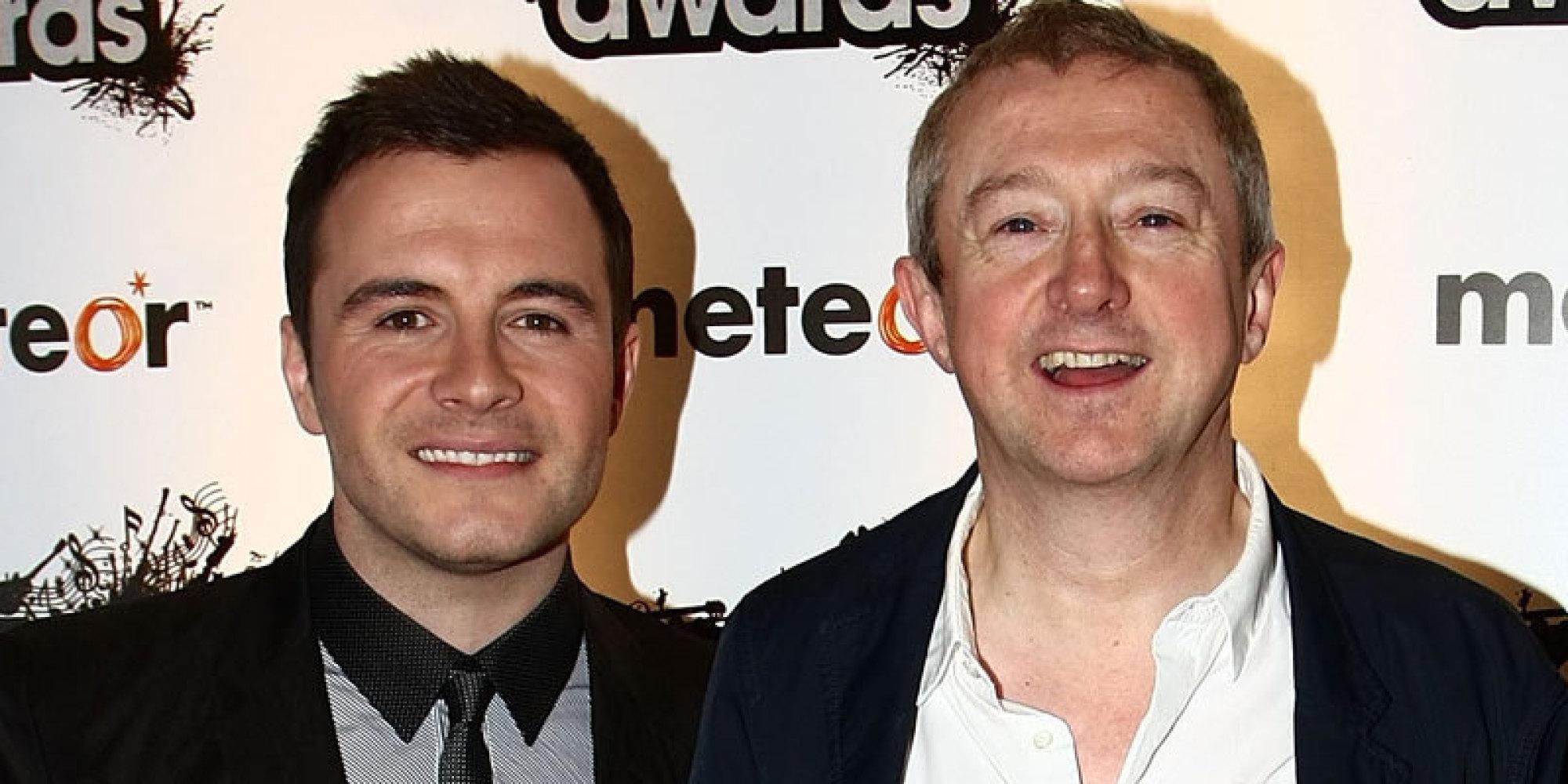 Shane Filan Reveals 'X Factor' Judge Louis Walsh 'Slapped