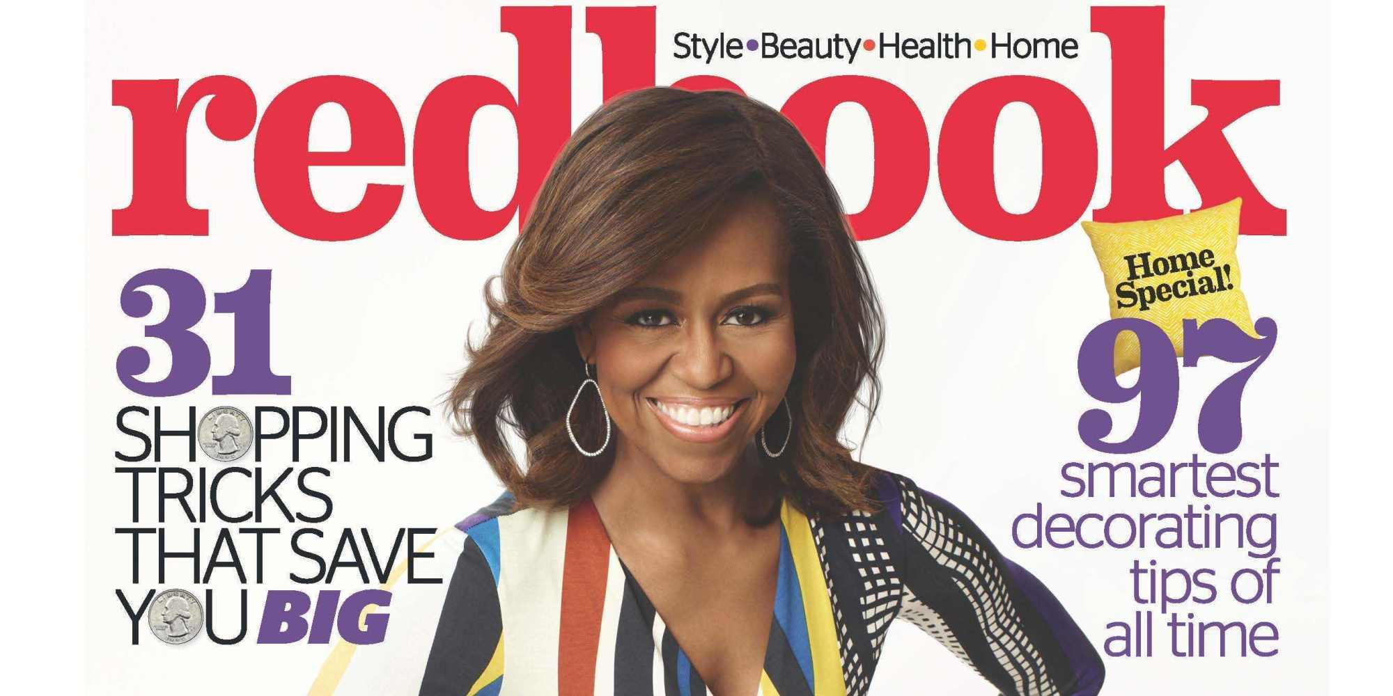 Fashion week Obama michelle redbook november for woman
