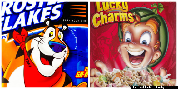 cereal mascots