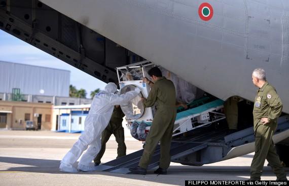 ebola airport