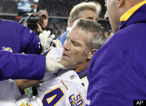 Brett Favre Injured