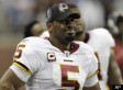 Donovan McNabb Benched In Loss To Lions