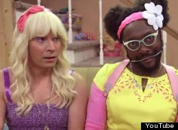 Jimmy Fallon And Will.i.am Mercilessly Parody Teenage Girls In The New Music Video 'Ew!'