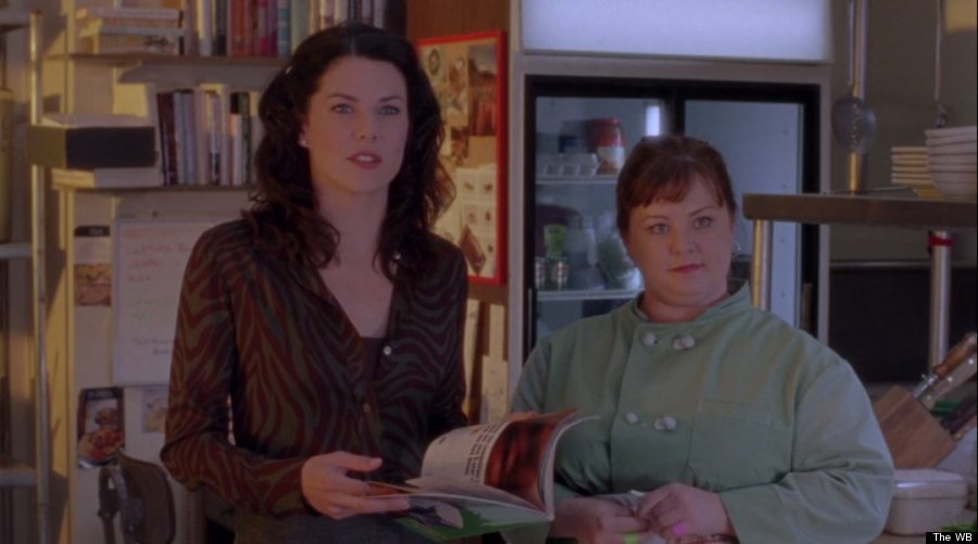 lorelai 39 s worst outfits in season 1 of 39 gilmore girls 39 huffpost. Black Bedroom Furniture Sets. Home Design Ideas