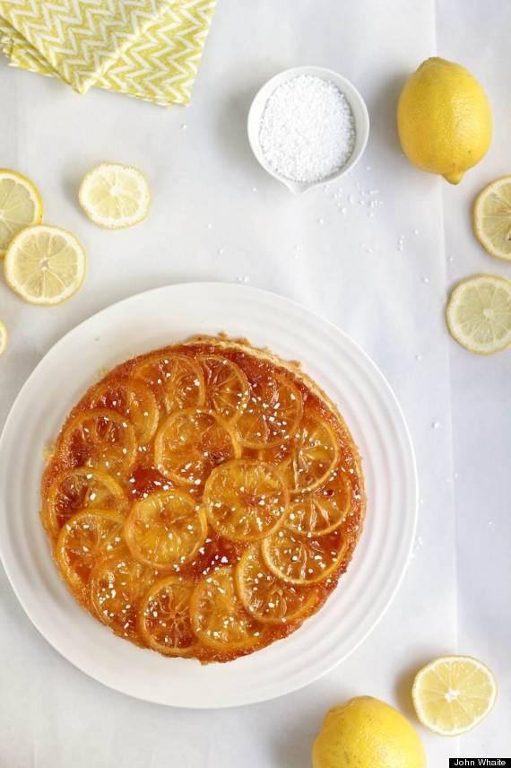 caramelised lemon cake