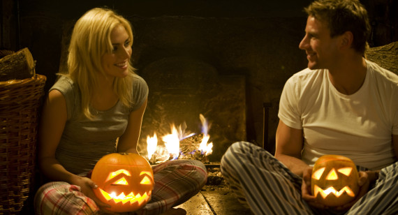 in some parts of ireland people celebrated halloween by playing romantic fortune telling games according to nicholas rogers halloween from pagan ritual - Strange Halloween Facts