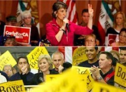 Barbara Boxer Carly Fiorina California Senate Race
