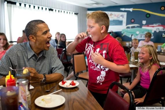 pie day obama