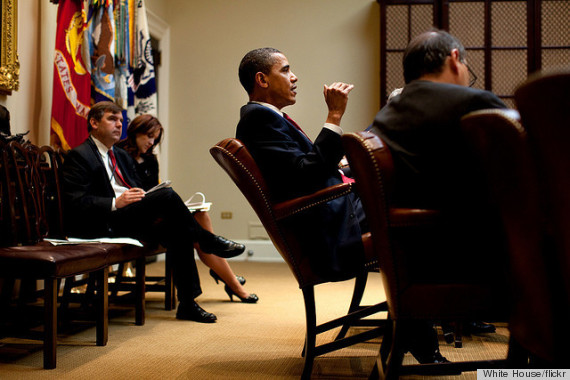 obama leaning chair