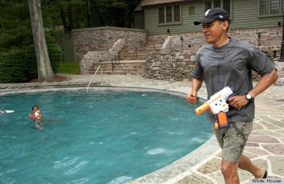 obama water fight