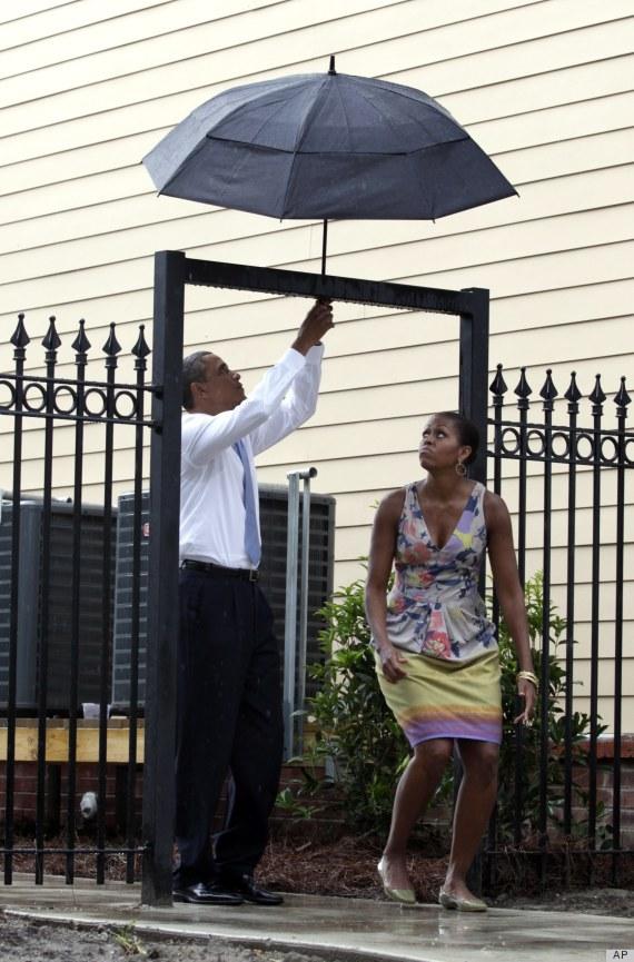 obama umbrella fail
