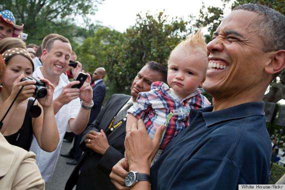 obama punk baby