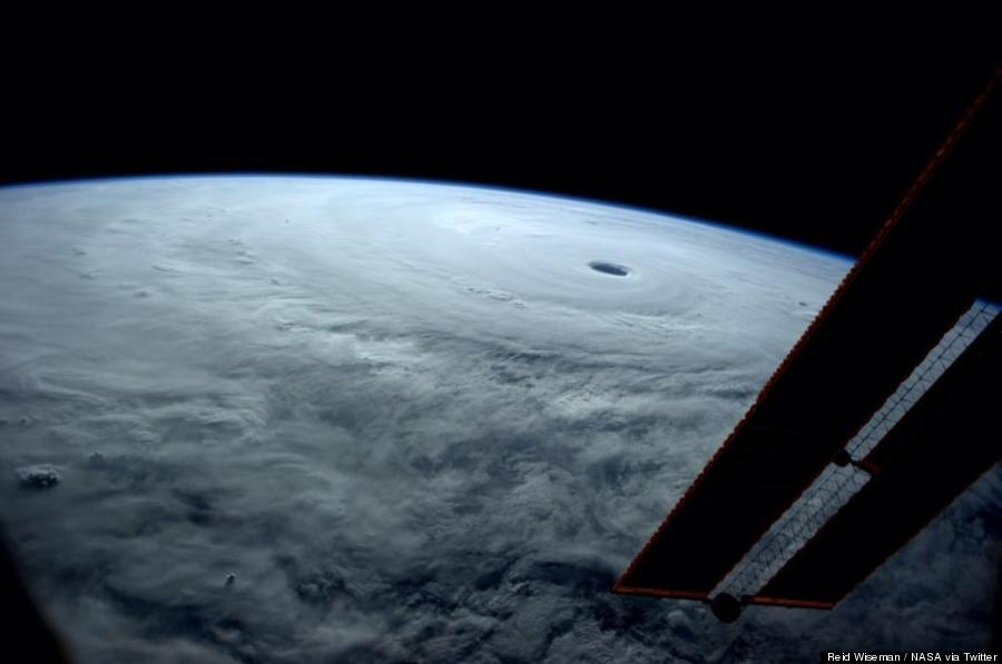 super typhoon from space